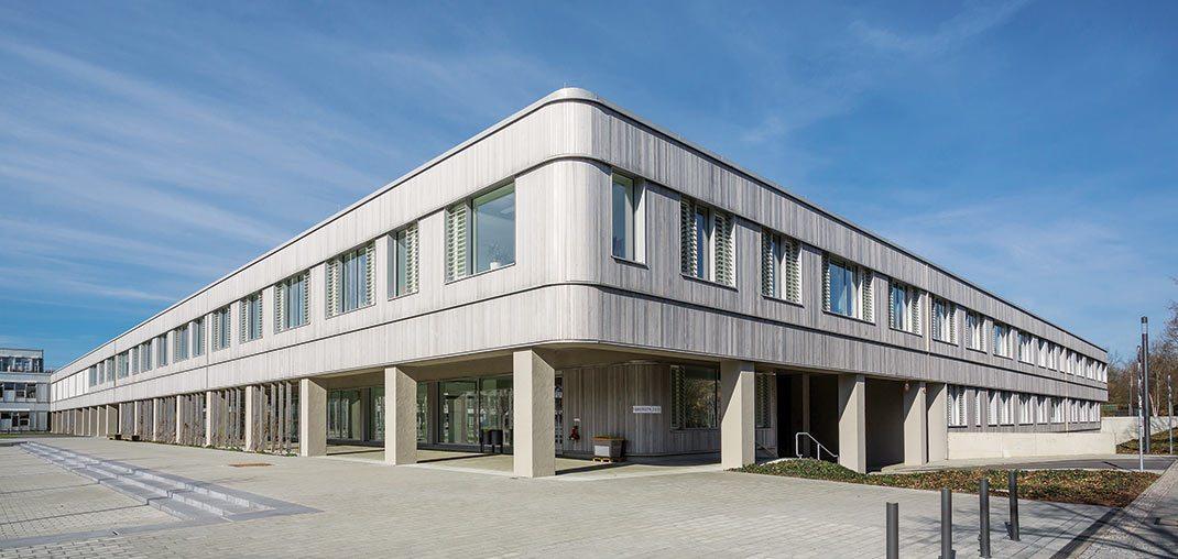 Naturwissenschaftliche Bibliothek Rohbau