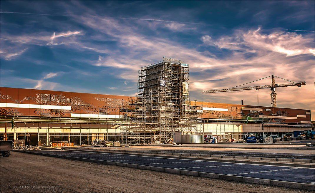 Shopping Center Braunschweig Baustelle