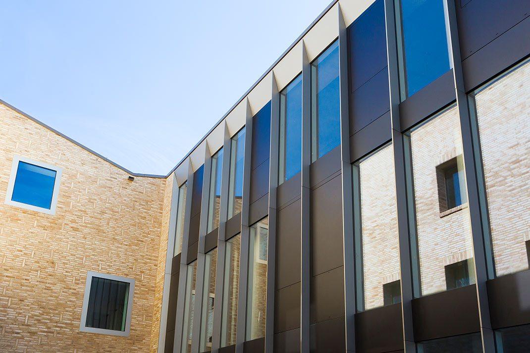 Wissenschafts- und Restaurierungszentrum Rohbau Detailansicht