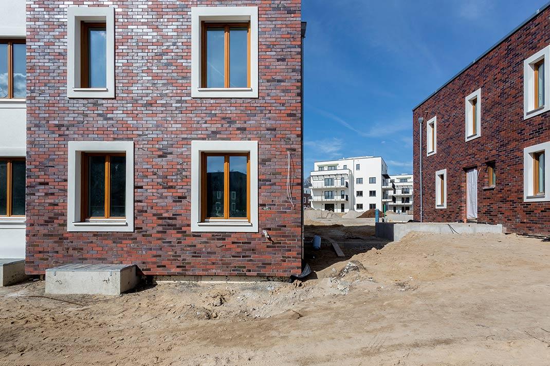 Die Wohnkompanie Zehlendorf Rohbau